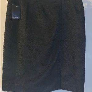 Past knee length black lace skirt*ACCEPTING OFFER